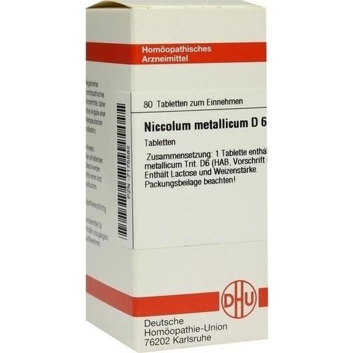 NICCOLUM METALLICUM D 6 Tabletten