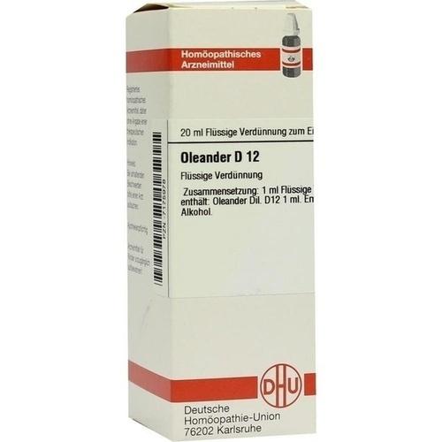 OLEANDER D 12 Dilution