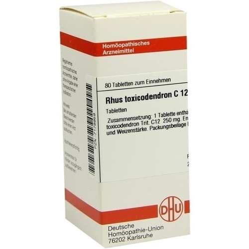 RHUS TOXICODENDRON C 12 Tabletten