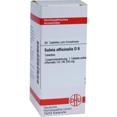 SALVIA OFFICINALIS D 6 Tabletten