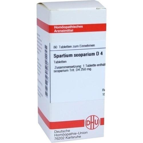SPARTIUM SCOPARIUM D 4 Tabletten