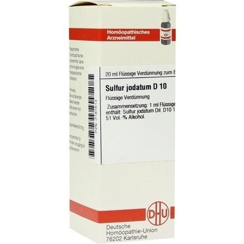 SULFUR JODATUM D 10 Dilution