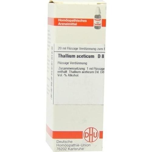 THALLIUM ACETICUM D 8 Dilution