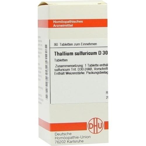 THALLIUM SULFURICUM D 30 Tabletten