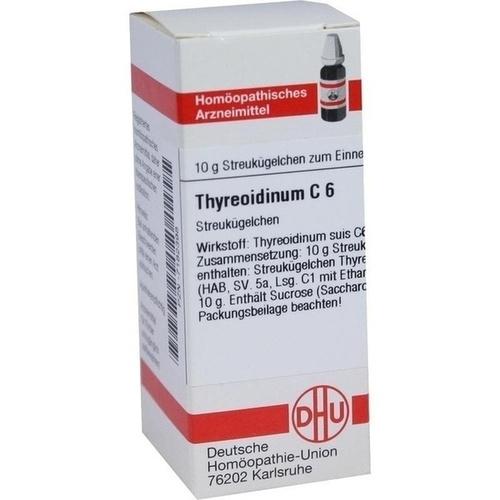 THYREOIDINUM C 6 Globuli