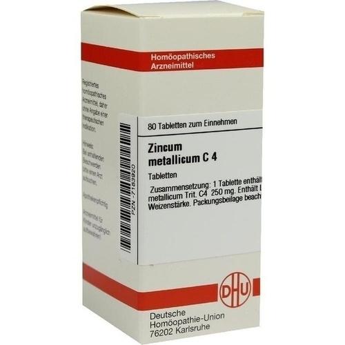 ZINCUM METALLICUM C 4 Tabletten