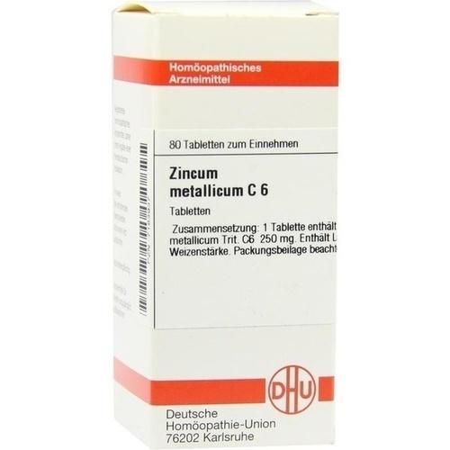 ZINCUM METALLICUM C 6 Tabletten