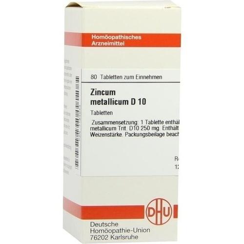 ZINCUM METALLICUM D 10 Tabletten