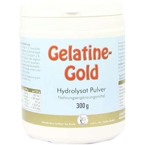 GELATINE gold Hydrolysat Pulver