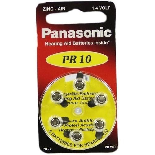 BATTERIEN f. Hörgeräte Panasonic PR10