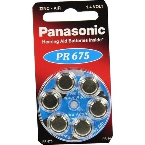 BATTERIEN f. Hörgeräte Panasonic PR675