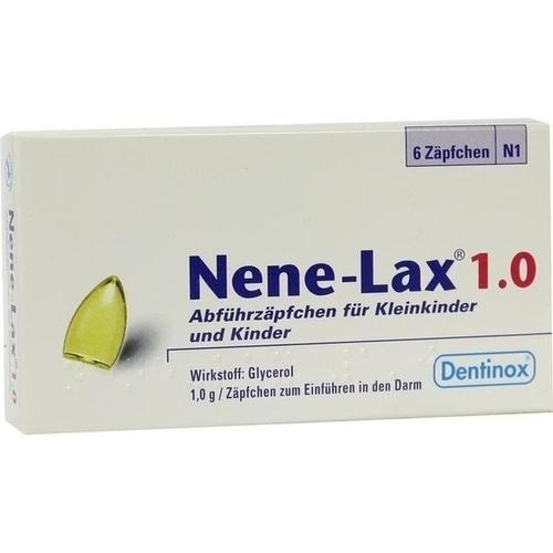 NENE LAX 1,0 Suppos.f.Kleinkdr.u.Kdr. 6 St.
