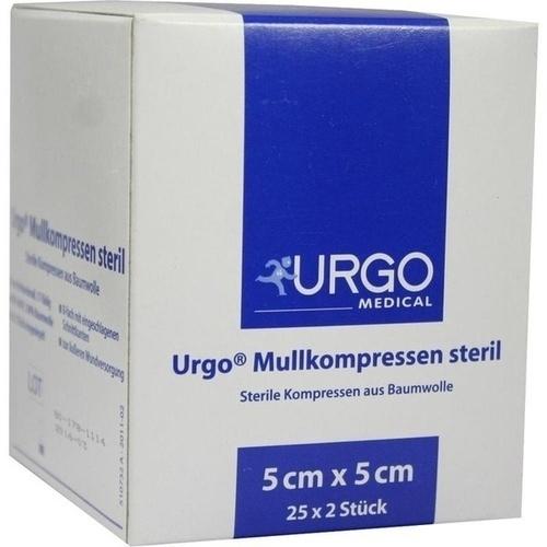 URGO MULLKOMPRESSEN 5x5 cm steril