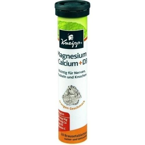 KNEIPP Magnesium+Calcium Brausetabletten