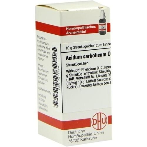 ACIDUM CARBOLICUM D 12 Globuli