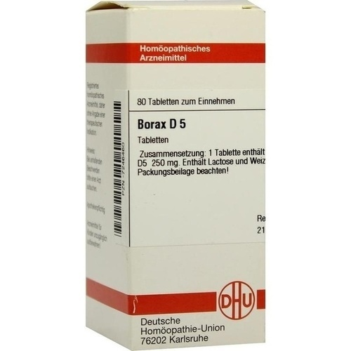 BORAX D 5 Tabletten