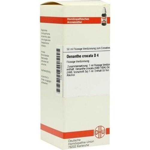 OENANTHE CROCATA D 4 Dilution