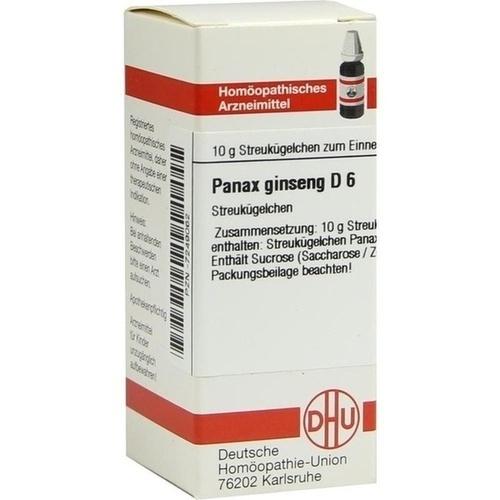 PANAX GINSENG D 6 Globuli