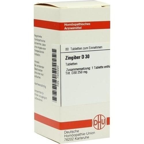 ZINGIBER D 30 Tabletten