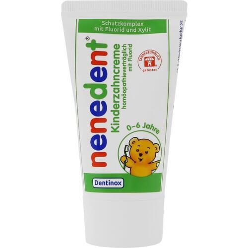 NENEDENT Kinderzahncreme homöop. Vertr. m. Fluor.