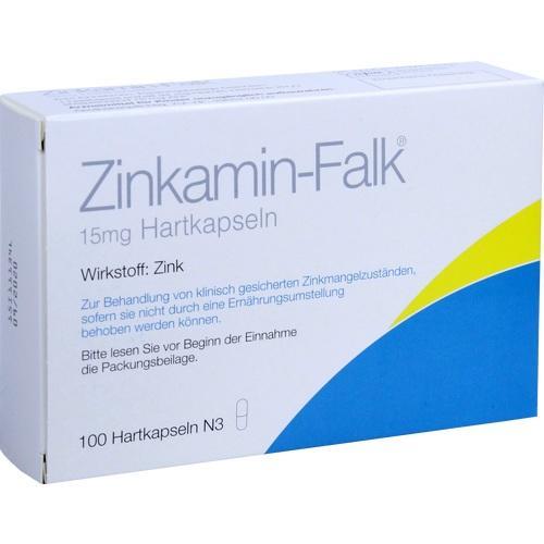 ZINKAMIN Falk 15 mg Hartkapseln