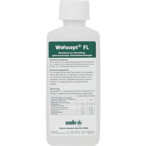 WOFASEPT FL Flächendesinfektionsmittel 250 ml