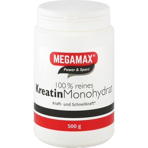 KREATIN MONOHYDRAT 100% Megamax Pulver