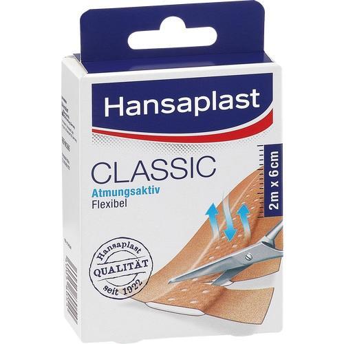 HANSAPLAST Classic Pflaster 6 cmx2 m