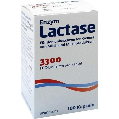 LACTASE 3. 300 FCC 200 mg Kapseln