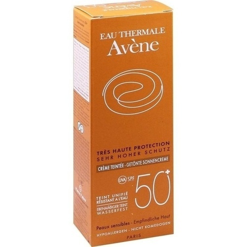 AVENE SunSitive Sonnencreme SPF 50+ getönt