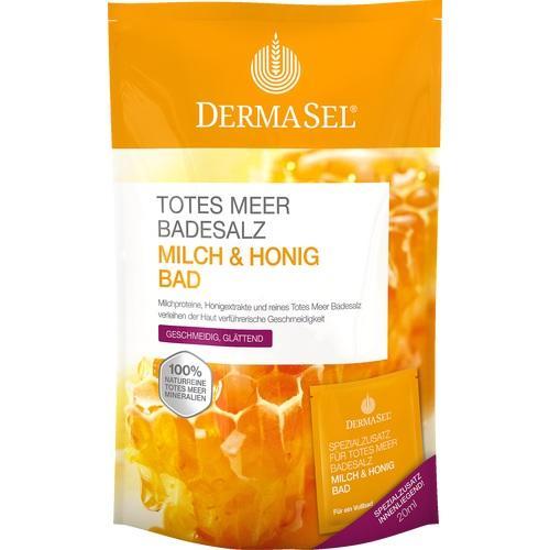 DERMASEL Totes Meer Badesalz+Milch&Honig SPA