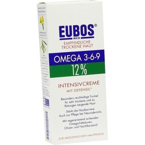 EUBOS EMPFINDL.HAUT Omega 3-6-9 Intens.Creme
