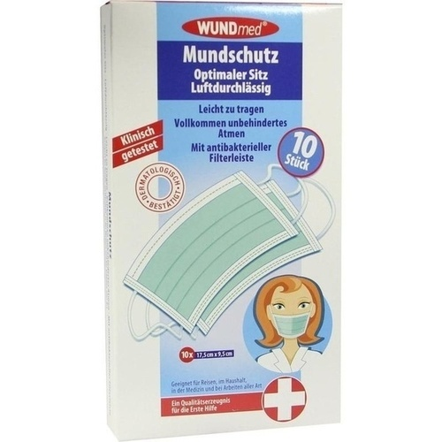 MUNDSCHUTZ m.antibakterieller Filterleiste