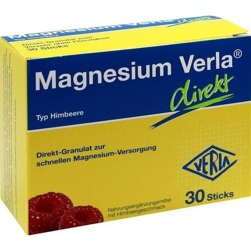 MAGNESIUM VERLA direkt Granulat Himbeere