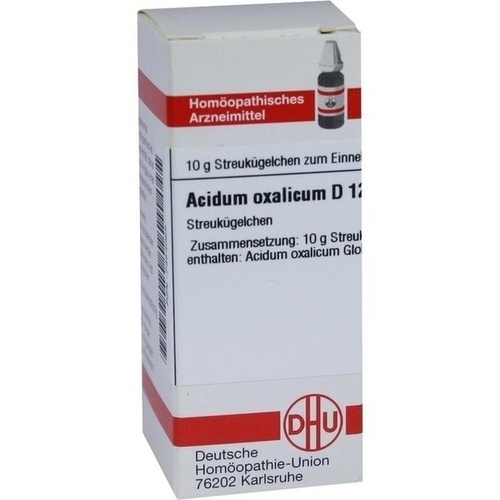 ACIDUM OXALICUM D 12 Globuli