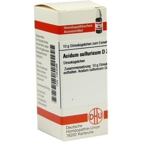 ACIDUM SULFURICUM D 200 Globuli