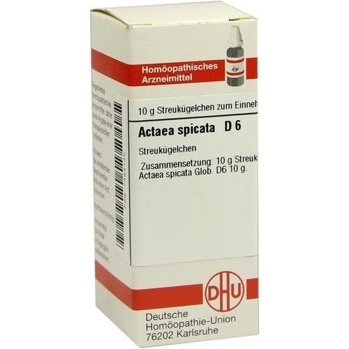ACTAEA SPICATA D 6 Globuli