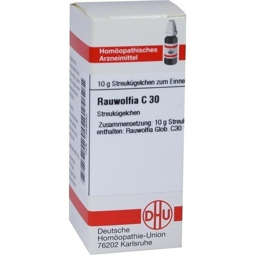 RAUWOLFIA C 30 Globuli