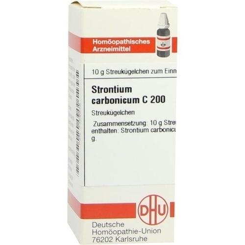 STRONTIUM CARBONICUM C 200 Globuli