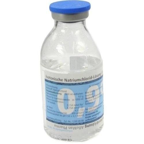ISOTONISCHE NaCl 0,9% DELTAMEDICA Inf.-Lsg.Glasfl.