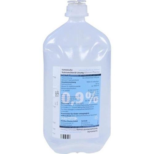 ISOTONISCHE NaCl 0,9% DELTAMEDICA Inf.-Lsg.Plastik
