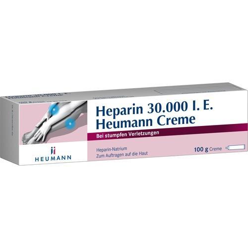HEPARIN 30. 000 Heumann Creme