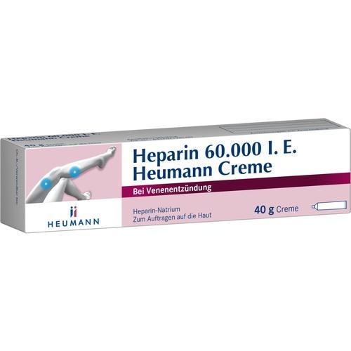 HEPARIN 60.000 Heumann Creme