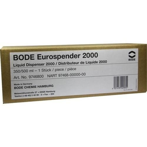 BODE Eurospender 2000 f. 350/500 ml Flaschen