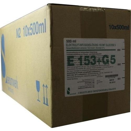 ELEKTROLYT Inf.-Lsg. 153 m.Glucose 5