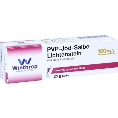 PVP JOD Salbe Lichtenstein