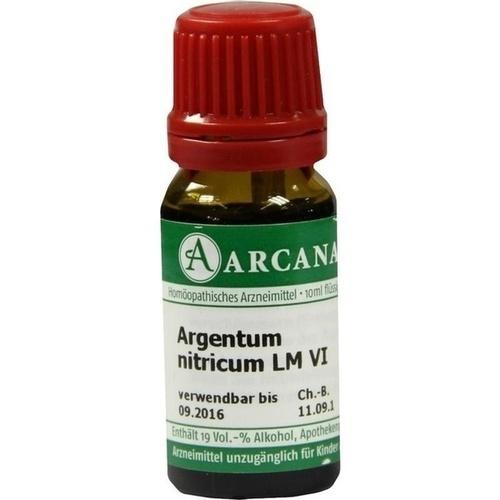 ARGENTUM NITRICUM LM 6 Dilution
