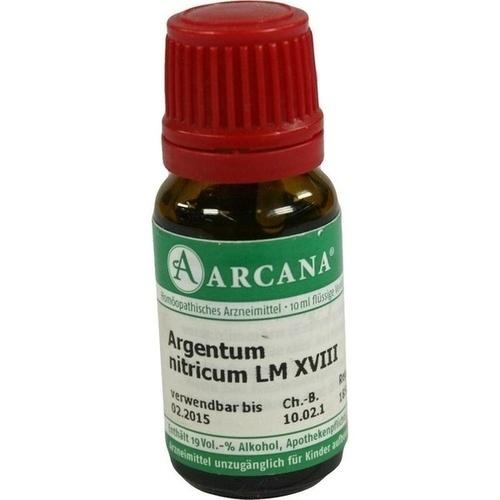 ARGENTUM NITRICUM LM 18 Dilution