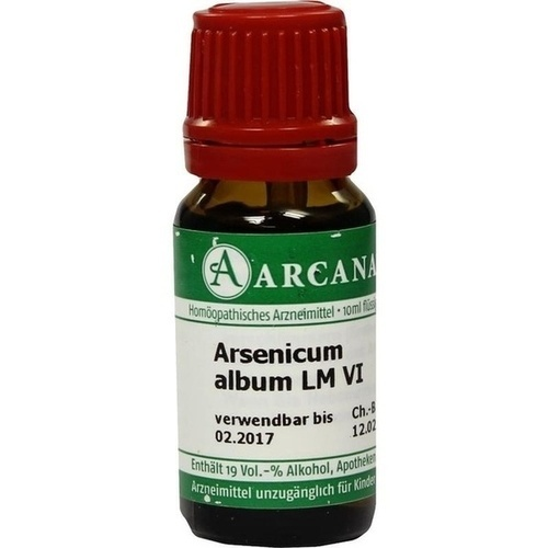 ARSENICUM ALBUM LM 6 Dilution
