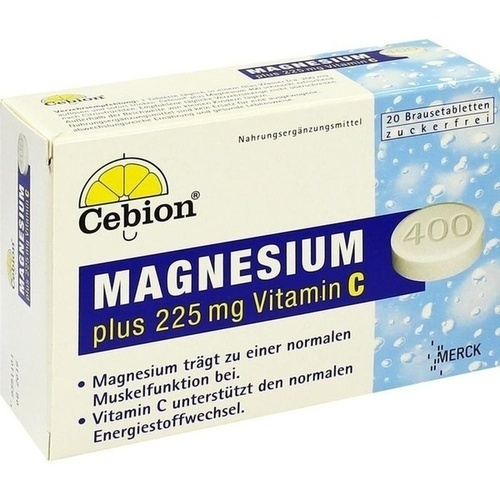 CEBION Plus Magnesium 400 Brausetabletten
